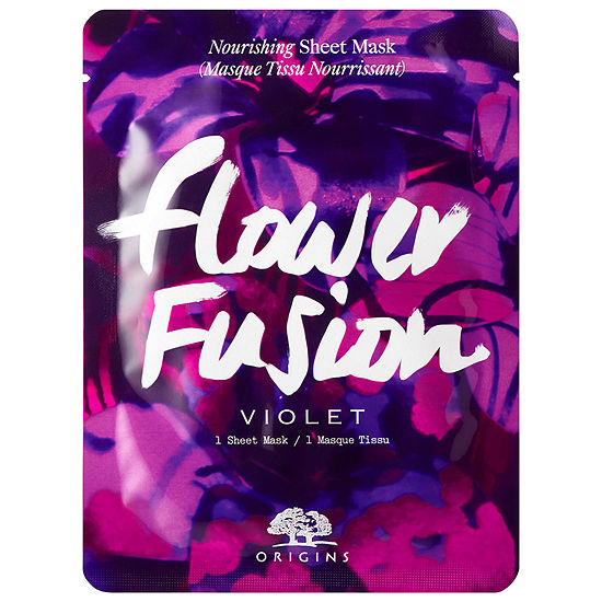 Origins Flower Fusion™ Violet Nourishing Sheet Mask