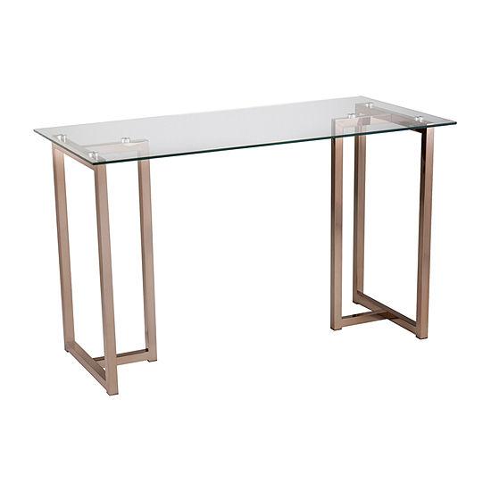Southern Enterprises Haxor Desk Desk