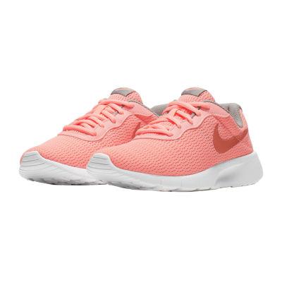 Nike Tanjun Big Kids Girls Lace-up Running Shoes