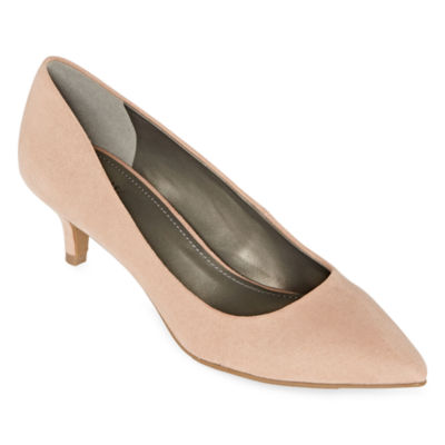Worthington Womens Danika Pumps Kitten Heel