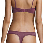 Every Girl By Ambrielle Knit Thong Panty Eg5001