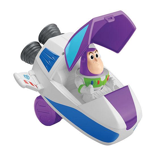 Disney Collection Disney/Pixar Toy Story Buzz Pop-Up Spaceship Cruiser