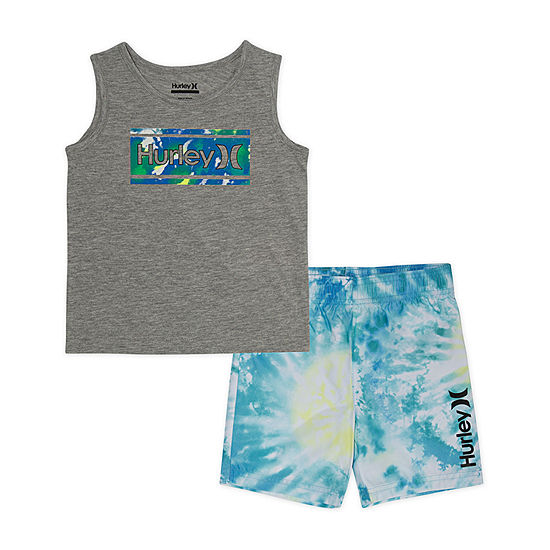 Hurley Boys Trunk Set - Toddler