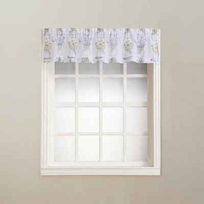 Eve's Garden Rod-Pocket Sheer Valance