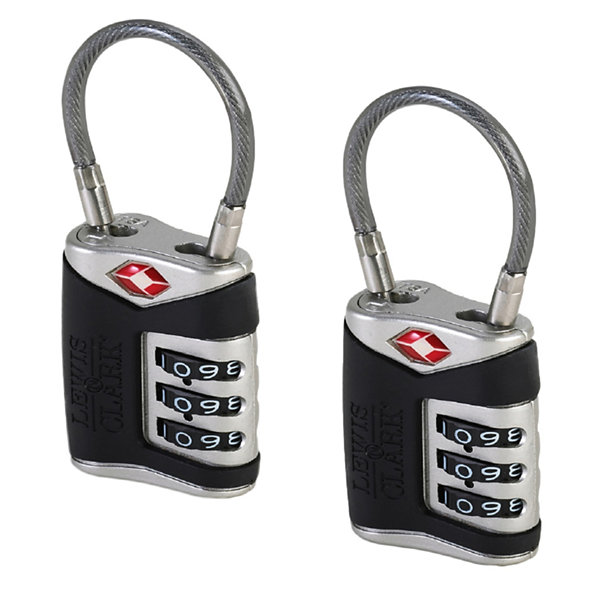 2-pk. Travel Sentry Cable Lock