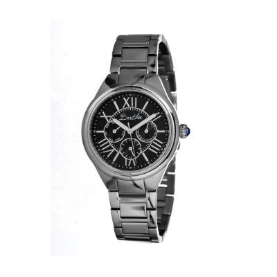 Bertha Rachel Womens Mother Of Pearl Dial Silver Tone Bracelet Watch Bthbr1402