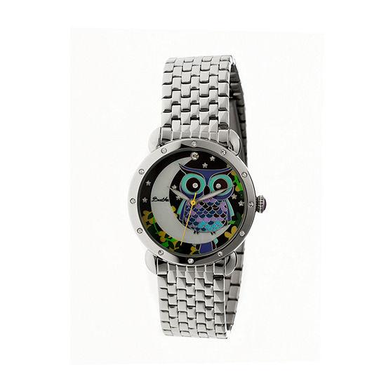 Bertha Ashley Womens Mother Of Pearl Dial Silver Tone Bracelet Watch Bthbr3008