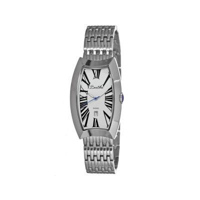 Bertha Laura Womens Mother Of Pearl Dial Silver Tone Bracelet Watch Bthbr3201