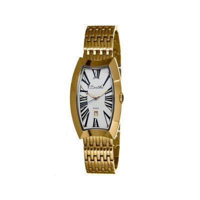 Bertha Laura Womens Swiss Gold Tone Bracelet Watch Bthbr3203