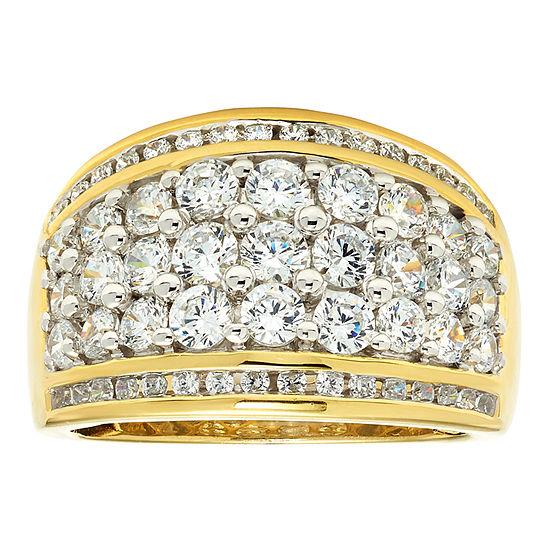 2 CT. T.W. Diamond 10K Yellow Gold Wedding Band