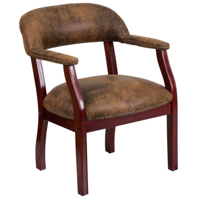 Microfiber Captain's Chair