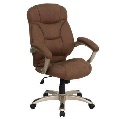 Microfiber Office Chair With Headrest