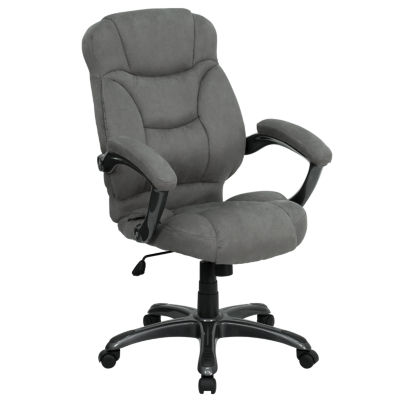 High Back Contemporary Executive Swivel Chair withArms
