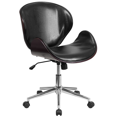 Contemporary Wood Office Chair
