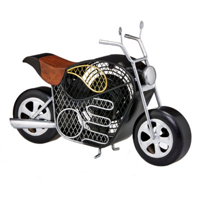 DecoBreeze™ Motorcycle Figurine Fan