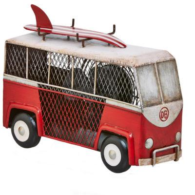 Deco Breeze® Surf Van Shaped Decorative Fan