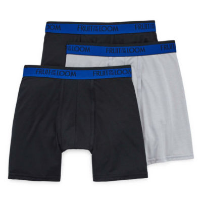 Fruit Of The Loom Cool Blend 3-pc. Boxer Briefs