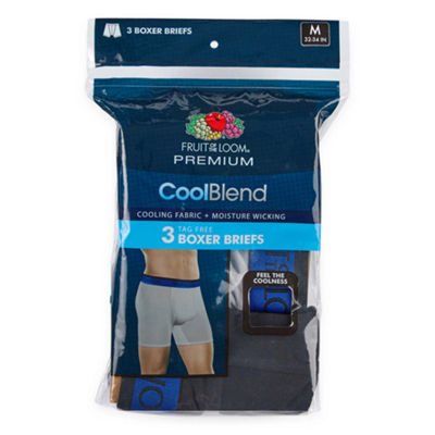 Fruit Of The Loom Premium CoolBlend 3-pc. Boxer Briefs