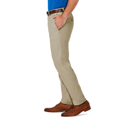 Haggar Cool 18 Pro Mens Slim Fit Flat Front Pant