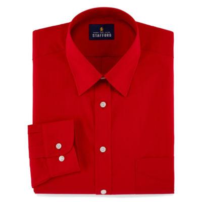 Stafford® Travel Performance Super Long Sleeve Dress Shirt