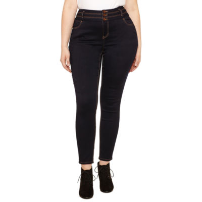 Blue Spice Skinny Fit Jean-Juniors Plus