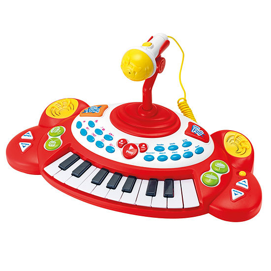 Winfun Superstar Electronic Keyboard With Microphone