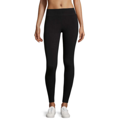 Flirtitude Wide Band Leggings-Juniors
