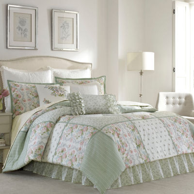 Laura Ashley Harper Comforter Set & Accessories