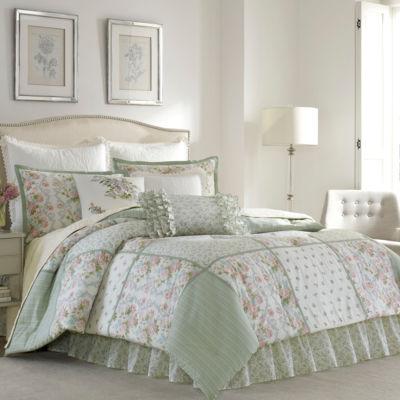 Laura Ashley Harper 4-pc. Comforter Set