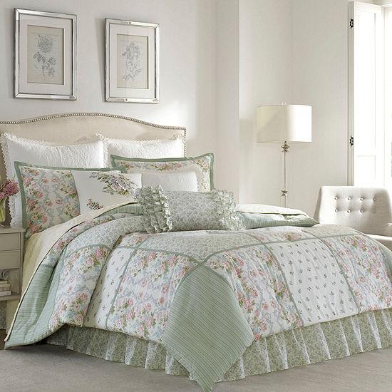 Laura Ashley Harper 4 Pc Comforter Set