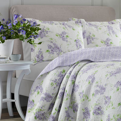 Laura Ashley Keighley 3-Piece Quilt Set