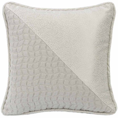 Hiend Accents 16x16 Half And Half Bed Rest Pillow