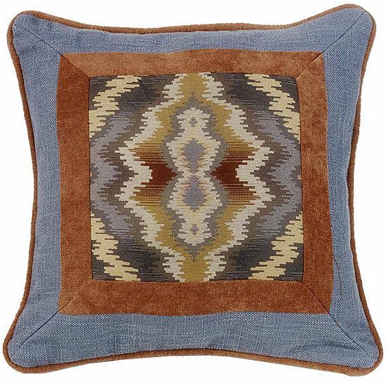 Hiend Accents 18x18 Lexington Framed Bed Rest Pillow