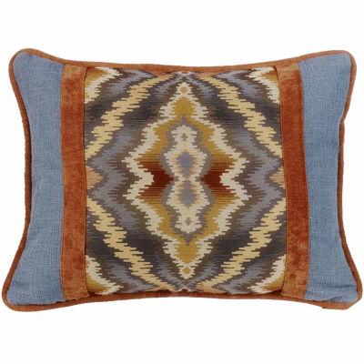 Hiend Accents 16x21 Lexington Oblong Bed Rest Pillow