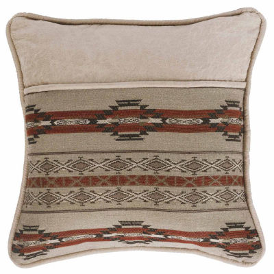 Hiend Accents 18x18 Pieced Bed Rest Pillow