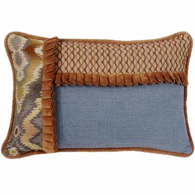 Hiend Accents 12x19 Pieced Bed Rest Pillow