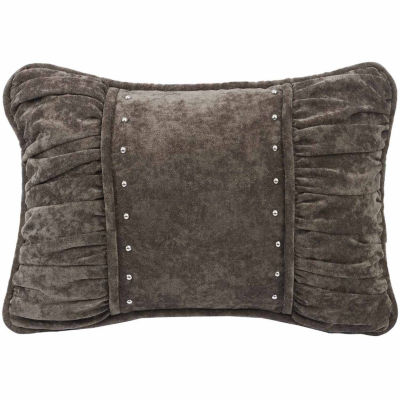 Hiend Accents 14x20 Shir Fabric Bed Rest Pillow