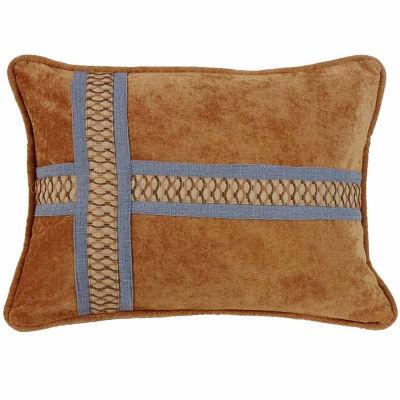 Hiend Accents 16x21 Cross Design Bed Rest Pillow