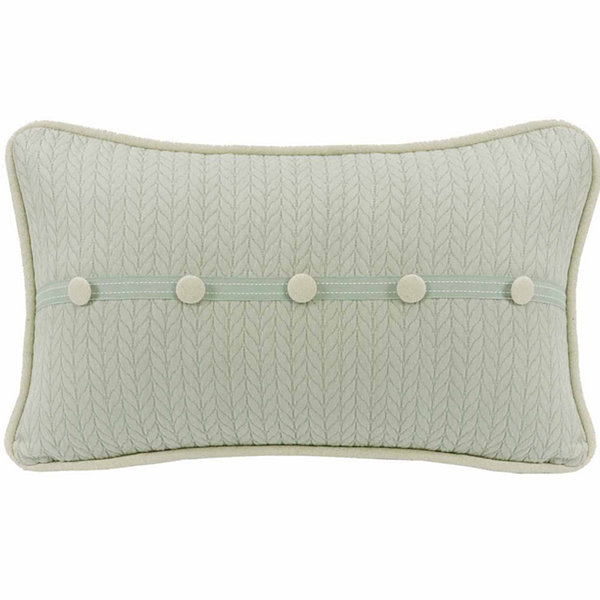 Hiend Accents 13x22 Trim Accent Bed Rest Pillow