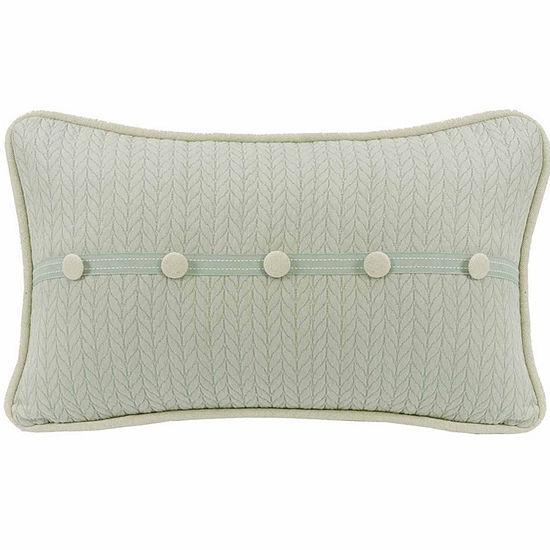Hiend Accents 13x22 Trim Accent Bed Rest Pillow
