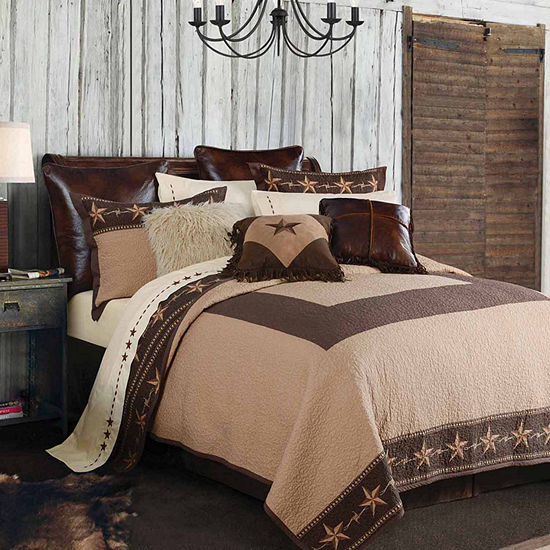 Hiend Accents Star Ranch Quilt Set