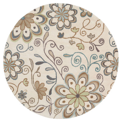 Decor 140 Alyxia Hand Tufted Round Rugs