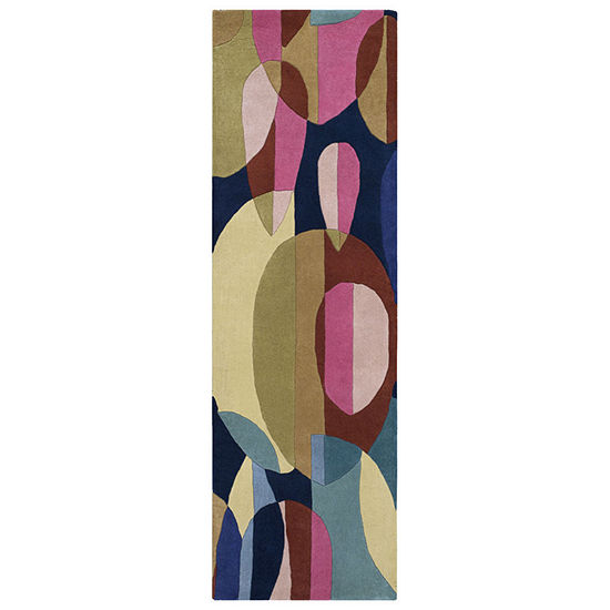 Decor 140 Menduad Hand Tufted Rectangular Indoor Runner