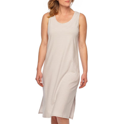 Liz Claiborne Jersey Sleeveless Round Neck Dots Nightgown