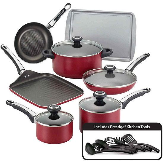 Farberware® High Performance 17-pc. Nonstick Aluminum Cookware Set