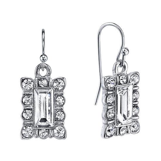 1928® Jewelry Crystal Drop Earrings