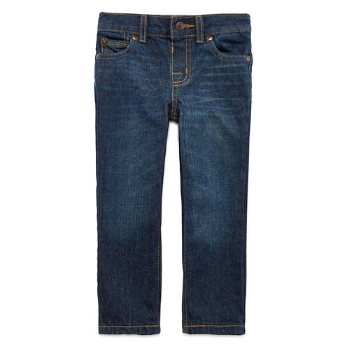 Arizona Straight-Leg Jeans - Toddler Boys 2t-5t