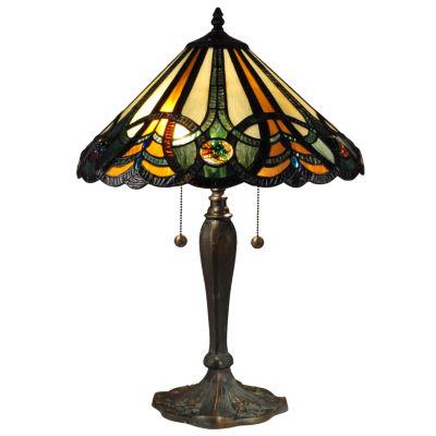 Dale Tiffany™ Sawyer Tiffany Lamp