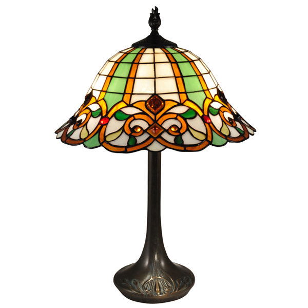 Dale Tiffany™ Green Reservoir Table Lamp
