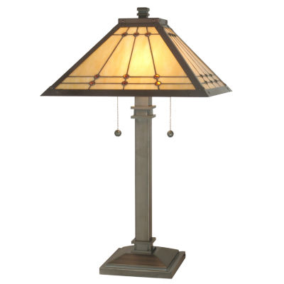 Dale Tiffany™ Jeweled Mission Table Lamp